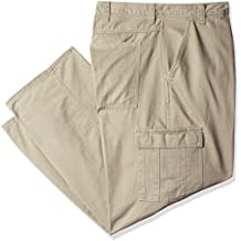Wrangler Authentics Men's Big & Tall Classic Cargo Twill Pant