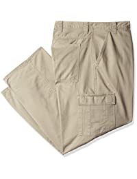 Wrangler Authentics Mens Big & Tall Classic Cargo Twill Pant