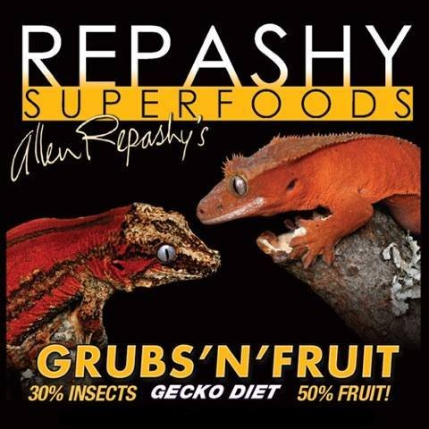 Grubs 'N' Fruit 12oz Jar - Complete Gecko Diet with Ground Insect Repashy