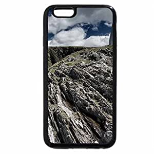 iPhone 6S / iPhone 6 Case (Black) cone shaped monument on rocky coast