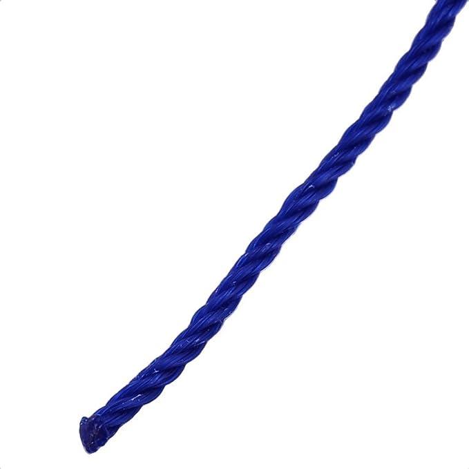 Amazon.com: eDealMax Nylon Camping bufanda Para Tender la ropa de la cuerda de Tender la ropa Azul 10m Longitud: Home & Kitchen