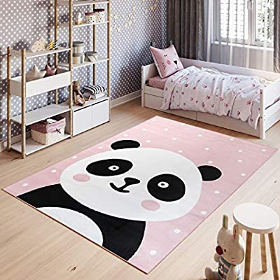 Tapiso Pinky Tapis De Chambre Enfant Bebe Ado Design Moderne