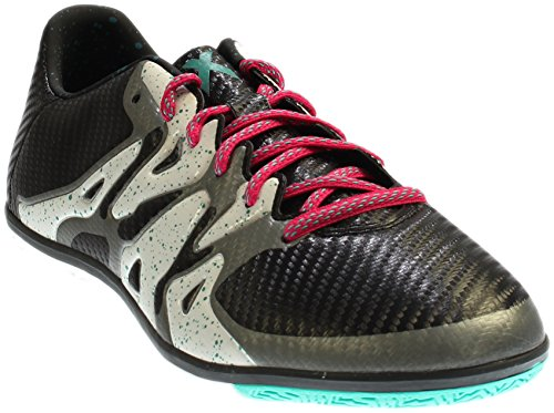 Adidas Mannen X 15,3 In Zwart / Shock Mint / Wit