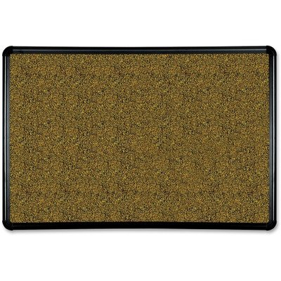 Best-rite Black Splash- Natural Cork Board, 36 x 24, Black Frame (BLT300PBT1) by Balt