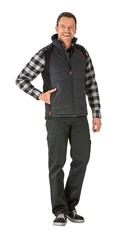 gris noir Taille L Planam - Manteau sans hommeche - Homme