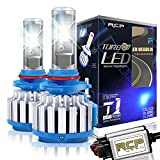 RCP 9005 HB3 LED Headlight CREE Bulbs Conversion Kits with Canbus, 70W 7200Lm 6000K White, 2 Years Warranty