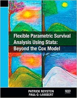 Descargar It Español Torrent Flexible Parametric Survival Analysis Using Stata: Beyond The Cox Model Gratis Epub