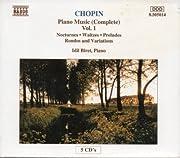 Chopin: Piano Music (Complete) Vol. 1:…