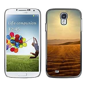 Paccase / SLIM PC / Aliminium Casa Carcasa Funda Case Cover - Desert views - Samsung Galaxy S4 I9500