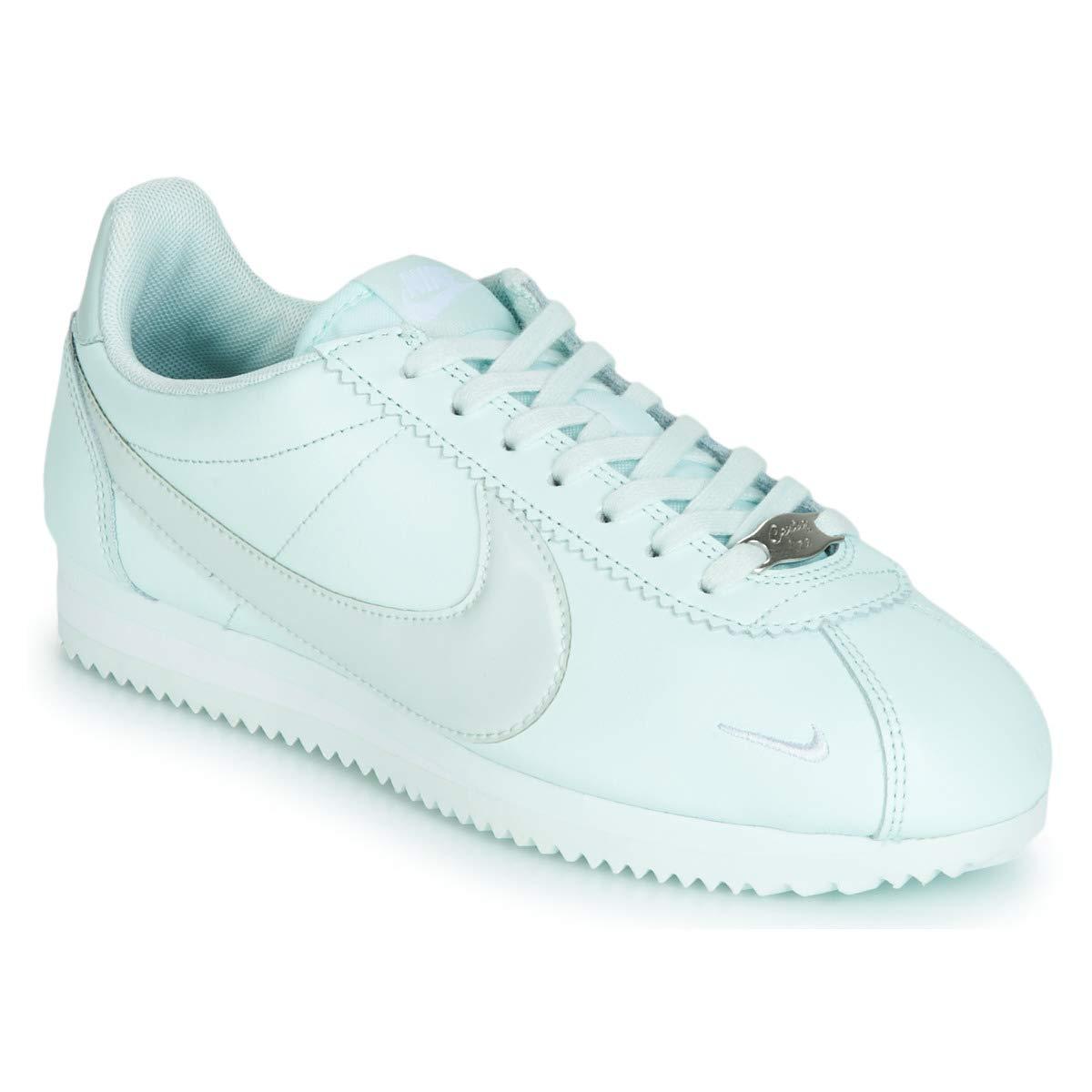 Nike Classic Cortez Premium W Turnschuhe Damen Grau Turnschuhe Low