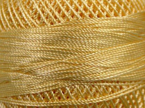 Micro Needlepoint (Pastel Yellow - Yarn Art Tulip Size 10 Microfiber Thread - 50 Gram)