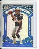 Football NFL 2007 Finest Blue Refractors #8 Tom Brady /299 Patriots