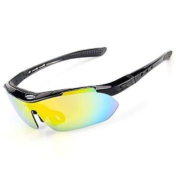 Männer und Frauen Polarisierende Sonnenbrillen Outdoor Sports Anti-Uv-schutzbrille Klettern Angeln und Reiten Gläser , red black