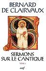 Sermons sur cantique, tome 3 par de Clairvaux