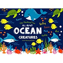 All About Ocean Creatures: Fun-Schooling - Math, Reading, Art, Science & Spelling Games