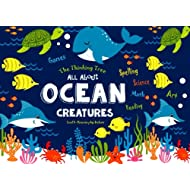 All About Ocean Creatures: Fun-Schooling - Math, Reading, Art, Science & Spelling Games (Homeschooling with Thinking Tree Books)