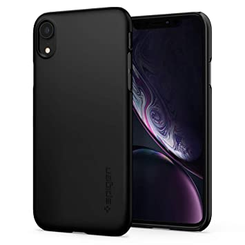 coque iphone xr noir rigide
