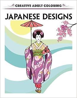 Creative Escapes Coloring Book Japanese Designs Amazoncouk Racehorse Publishing Books