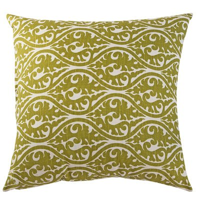 Transitional Olive Green - The Well Dressed Bed Accent Pillow, 18 by 18-Inch, Kimono/Olive