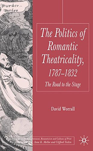 The Politics of Romantic Theatricality, 1787-1832: The Road to the Stage (Palgrave Studies in the Enlightenment, Romanti