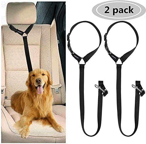 CGBOOM Seatbelts Adjustable Headrest Restraint