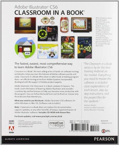 Adobe Illustrator Cs6 Classroom In A Book Import It All