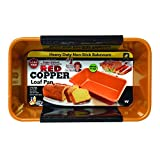 Red Copper Loaf Pan by BulbHead