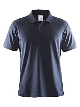 Craft Pique Classic Polo Camiseta - Marina: Amazon.es: Ropa y ...