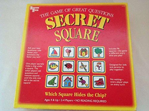 Secret Square Board Game (The Square Game)