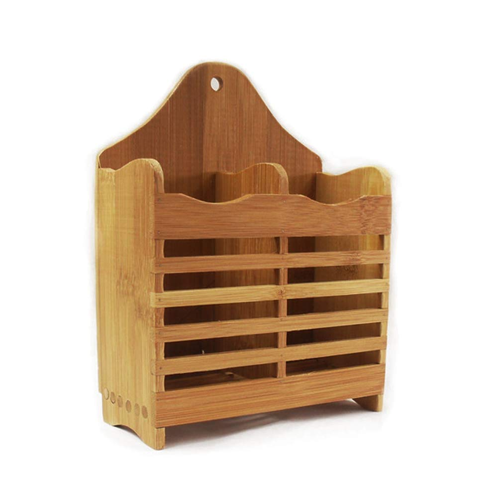 Bamboo Flatware and Utensil Organizer Caddy and Drying Rack Drawer Organizer, Cutlery, Drying Rack cyclamen9