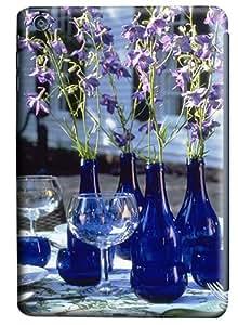 iPad Mini Case and Cover -Cups And Dark Blue Vase PC case Cover for iPad Mini