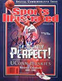 Bird, Sue 4/10/02 autographed magazine