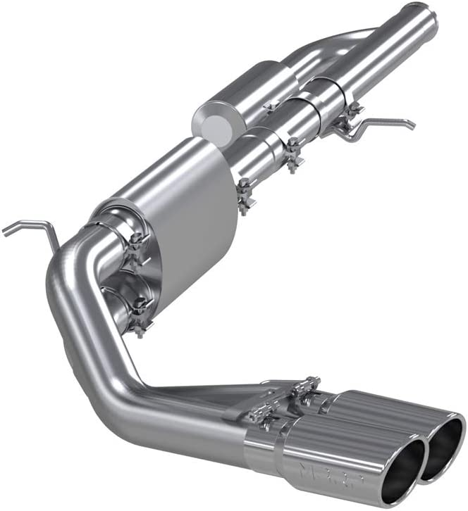 MBRP Pre-Axle Cat-Back Exhaust