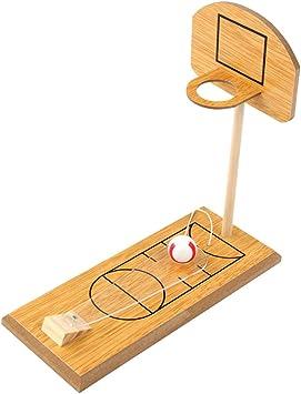 YeahiBaby Juguete de Madera para Jugar al Baloncesto Juguete de ...