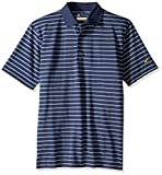 Jack Nicklaus Men's Short Sleeve Stripe Polo, Classic Navy, XX-Large