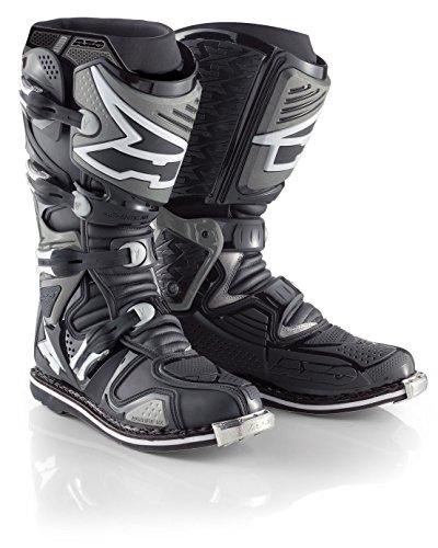 AXO A2 Boots (Black, Size 8)