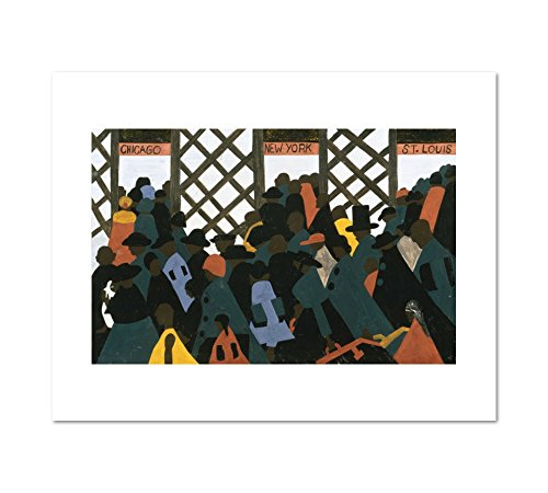 1000Museums The Migration Series, Panel no. 1 During World War I There was a Great Migration North by Southern African Americans. b