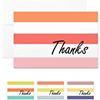 MALICPLUS 48 Thank You Cards Blank Cards with Envelopes, Greeting Cards Thank You Cards Assortment Thank You Cards in…
