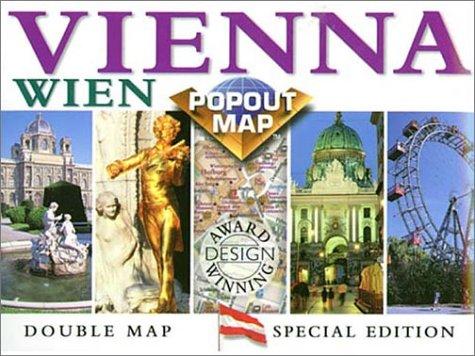 Popout-Popout Vienna (Europe Popout Maps)