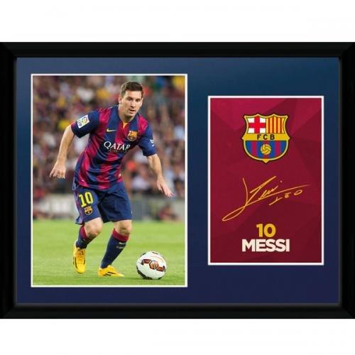 "16 x 12 Picture - F.C Barcelona ""Messi"""