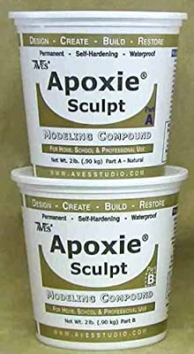 Apoxie Sculpt 4 Lb. White Epoxy Clay from Aves