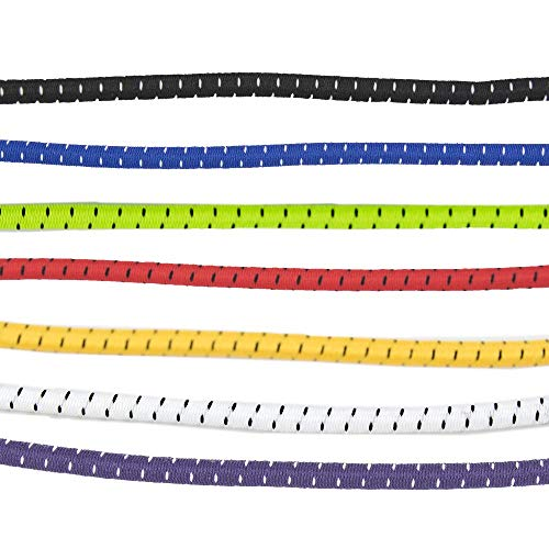 - Elastic Shoe Lace 6-Pack with Quick Slide Lock - Stretchy Laces So You Don't Have to Tie Your Shoes! (47