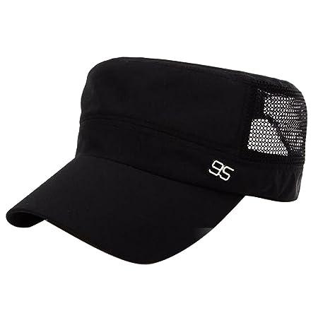 e2b21dd3ec1 Beetest-EU-Unisex Summer Flat Top Sun Hat Adjustable Breathable Quick Dry  Sun Visor