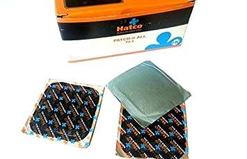 Hatco Parches reparacion en Frio 60mm repara pinchazos Motos Coches Quad 4x4 X 50 Un.: Amazon.es: Coche y moto