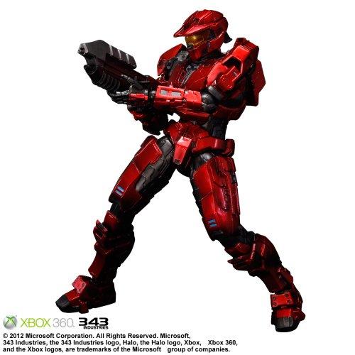 Halo:Combat Evolved Play Arts Kai Spartan Mark V Red (PVC Figure) -
