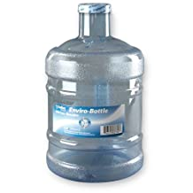 New Wave Enviro BpA Free 1 Gallon Water Bottle, Round