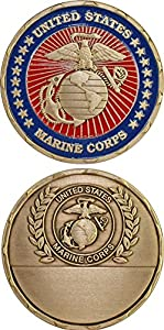 Marine Corps Engravable Challenge Coin