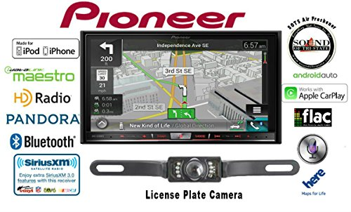 Pioneer AVIC-8200NEX Double Din Navigation Multimedia DVD Receiver with 7