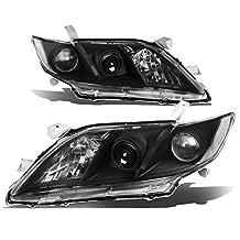 Toyota Camry XV40 Pair of Projector Black Housing Clear Corner Headlight