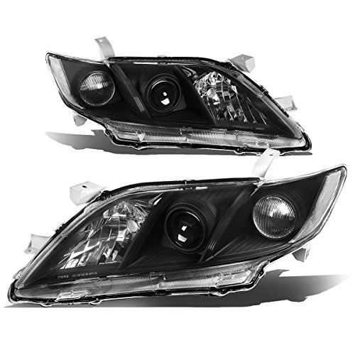 Toyota Camry XV40 Pair of Projector Black Housing Clear Corner Headlight (Housing Set Black)